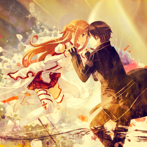 asuna_and_kirito___sword_art_online_by_jonatking-d5e65w6